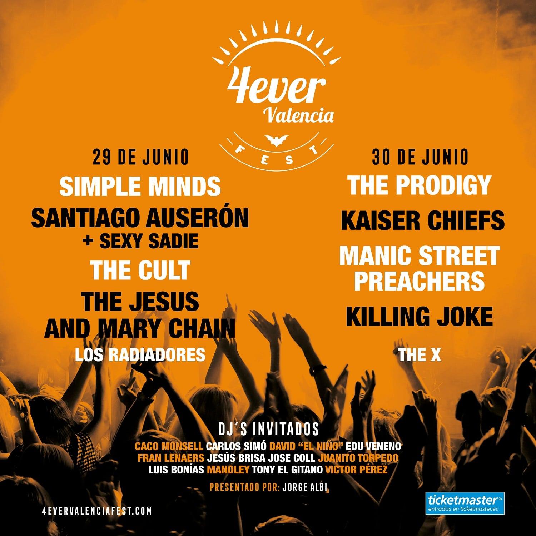Cartel 4ever Valencia Fest
