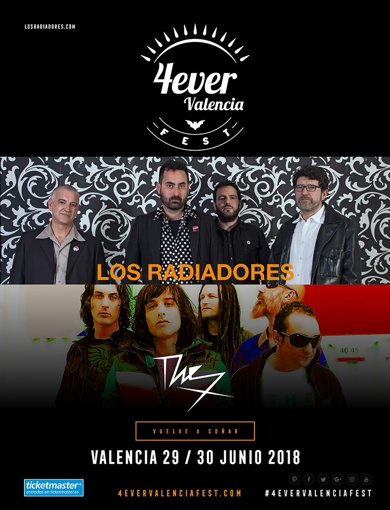 Los Radiadores y The X